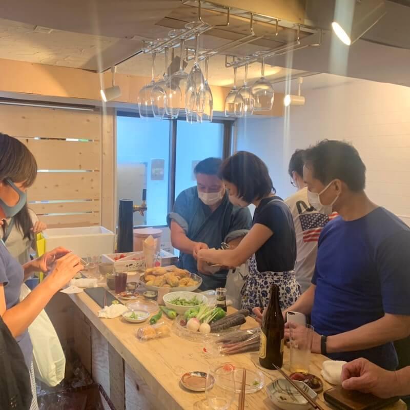 寿司作り体験